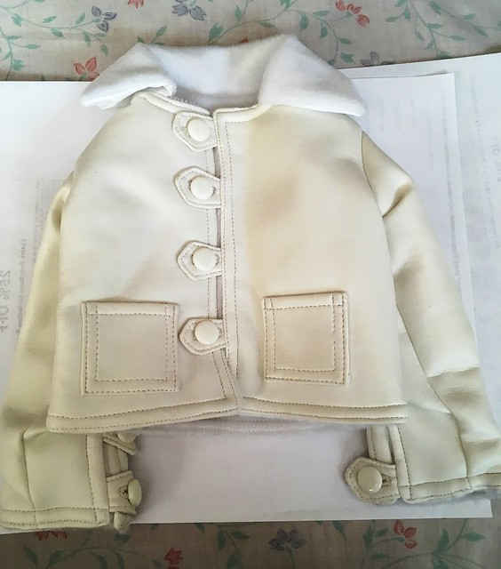 White Luts jacket for Lishe sized girls 15