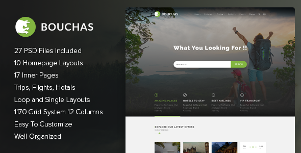 Bouchas v1.0 - Hotel / Travel / Tour Booking Community