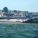 Rhôs-on-Sea harbour mouth