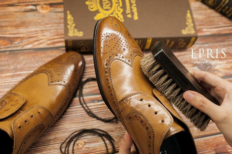 正式皮鞋保養
