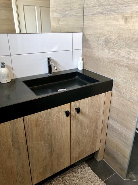 Badmeubel badkamer landelijke stijl