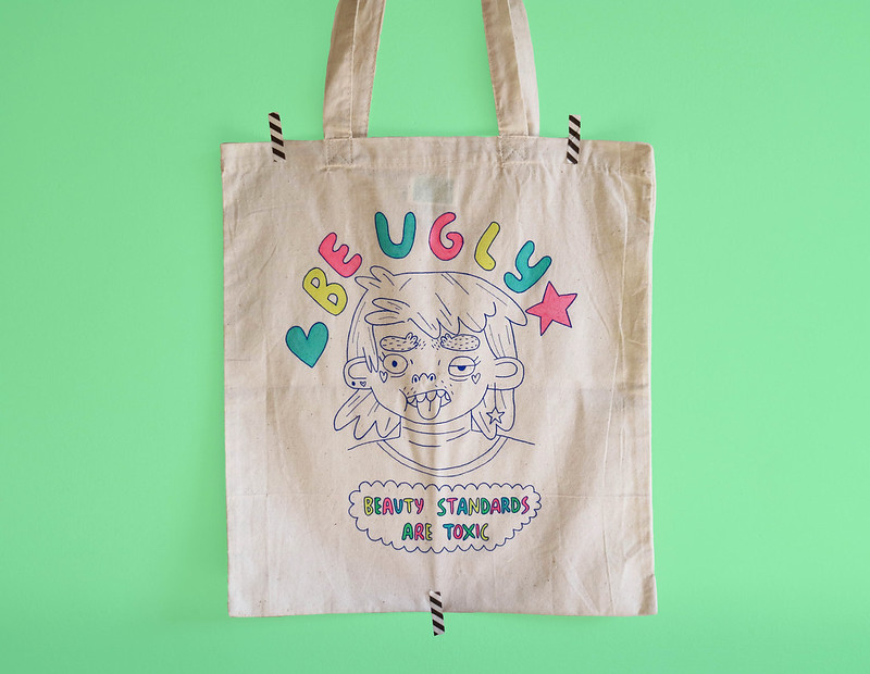 Be Ugly Tote