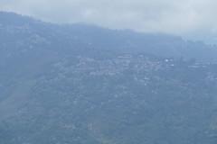 Driving through Lamhatta (near Darjeeling)