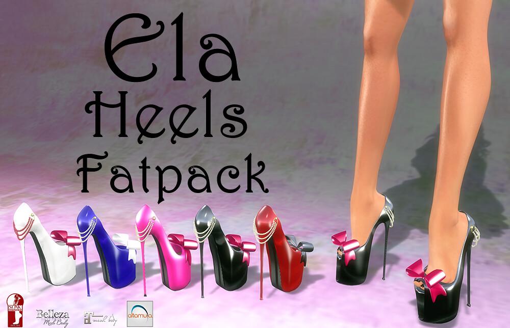 Continuum Ela  Heels Fatpack - TeleportHub.com Live!