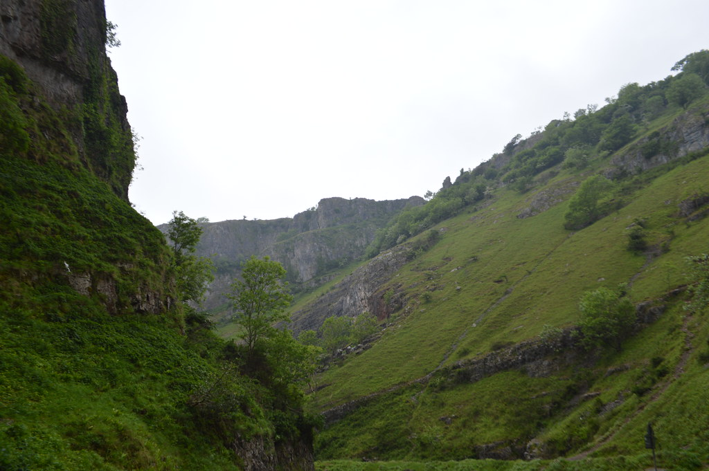 This is a picture of cheddar gorge