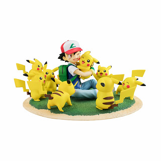 Pokemon G.E.M. Ash & Pikachu (Lots of Pikachu ver.)