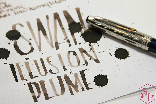 Montblanc Swan Illusion Plume Ink Review @AppelboomLaren @Montblanc_World 19