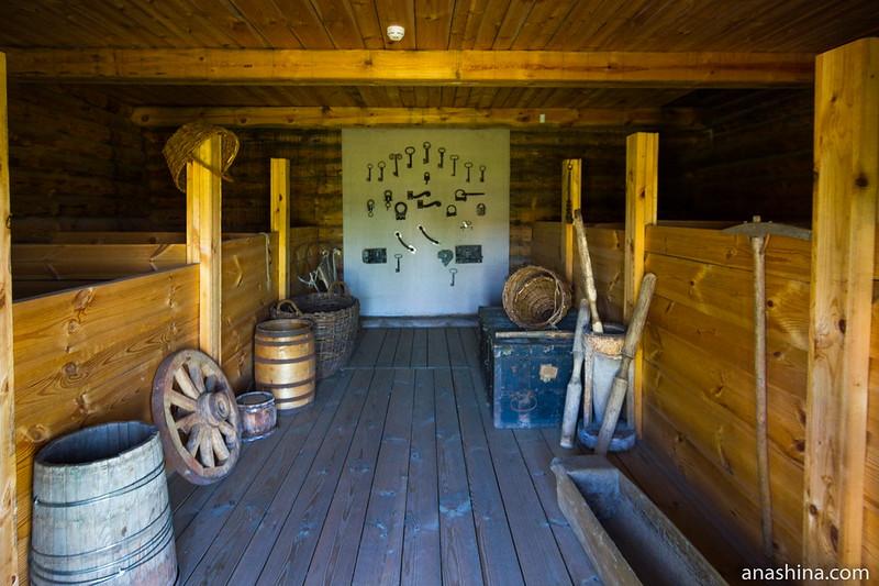 Выставка замков и ключей, Музей деревянного зодчества, Суздаль