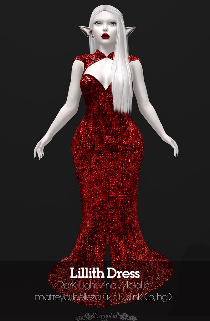 ~SongBird~ Lillith Dress - TeleportHub.com Live!