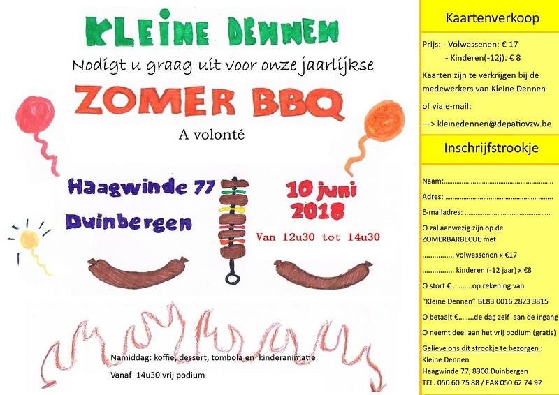 Jaarlijkse Zomer BBQ @ Kleine dennen (Duinbergen) 10/06/2018
