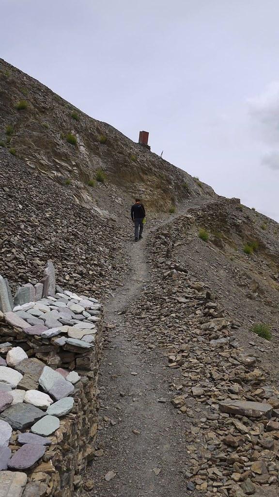 A quick hike in Lamayuru (3500 masl) during our third day in Ladakh. Lamayuru, Ladakh, India