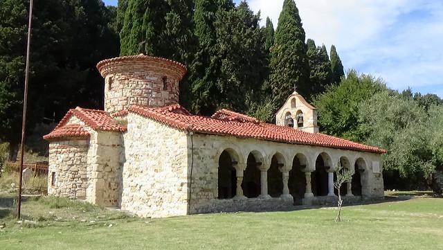 Saint Merise Monastery, Zvernec 02