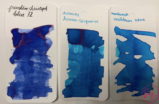 Franklin-Christoph Blue 72 Ink Review @1901FC 6