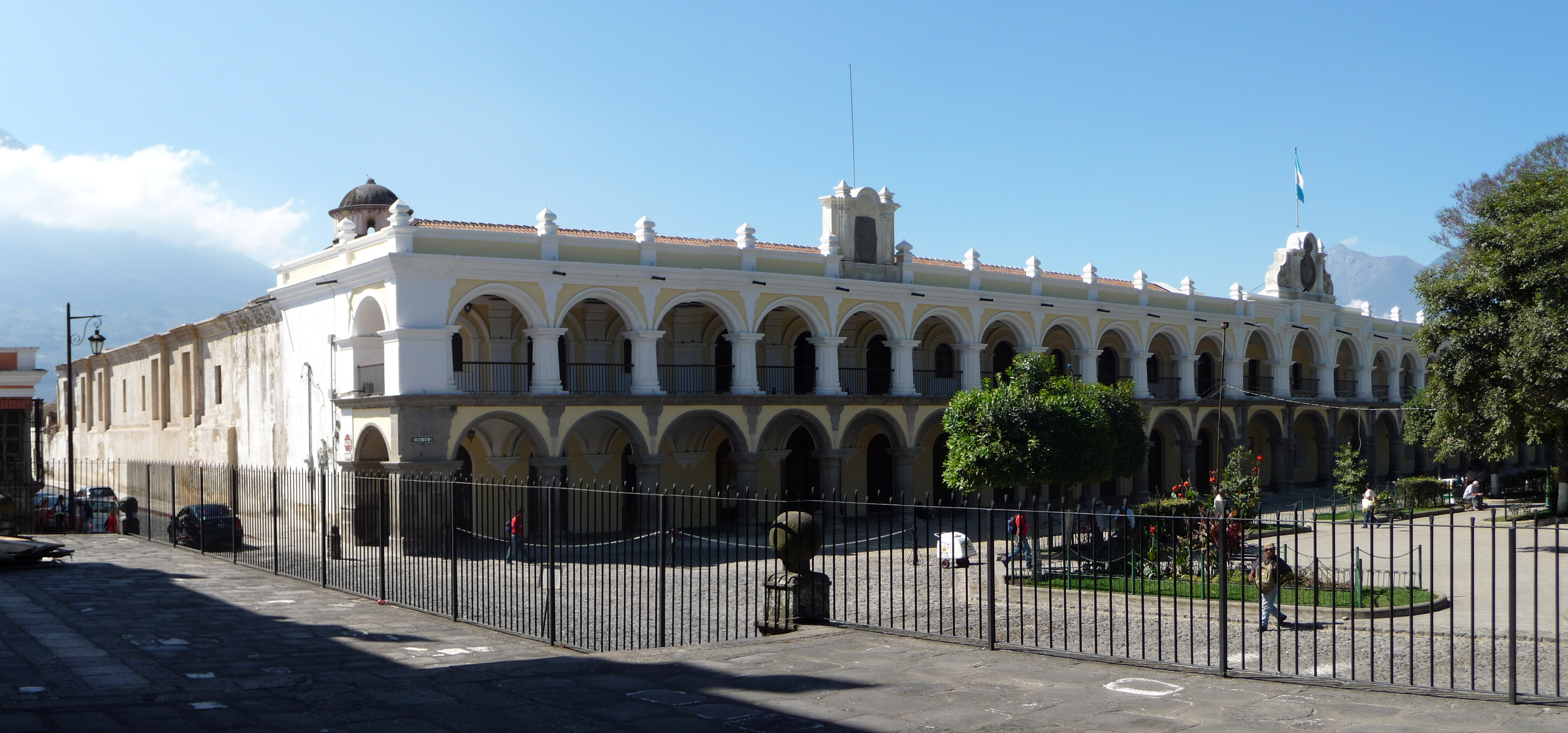 The Palace of the General Captains in Antigua (Sacatepéquez, Guatemala). Photo taken on January 31, 2011.