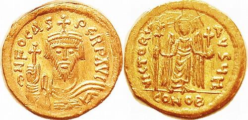 PHOCAS, Gold Solidus