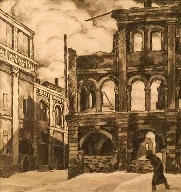 米哈伊尔·博贝绍夫画作选11