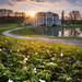 Sunset at castle Wilhelmsthal by Alexander Lauterbach Photography