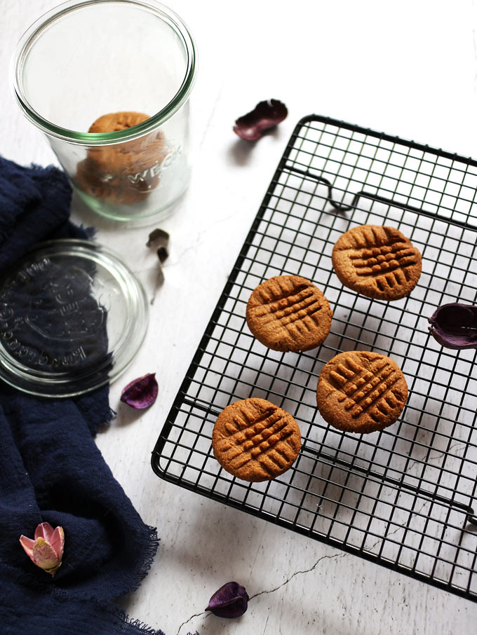 全素花生餅乾 6-ingredient-peanut-butter-cookies (3)
