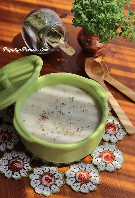 yeşil mercimekli yoğurt çorbası 002