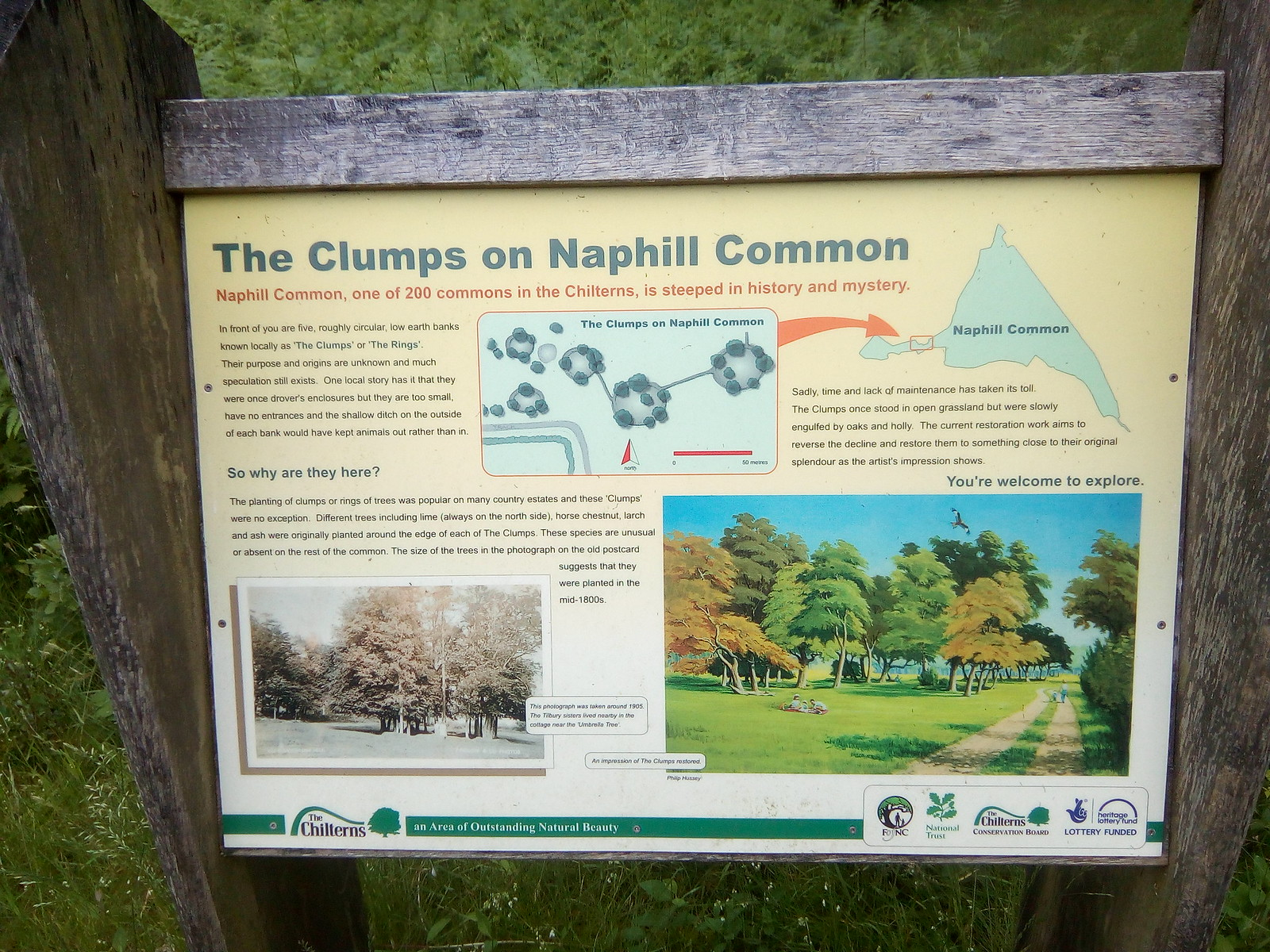 The Clumps Sounds like a program that used to be on the Home Service (AKA Radio 4)