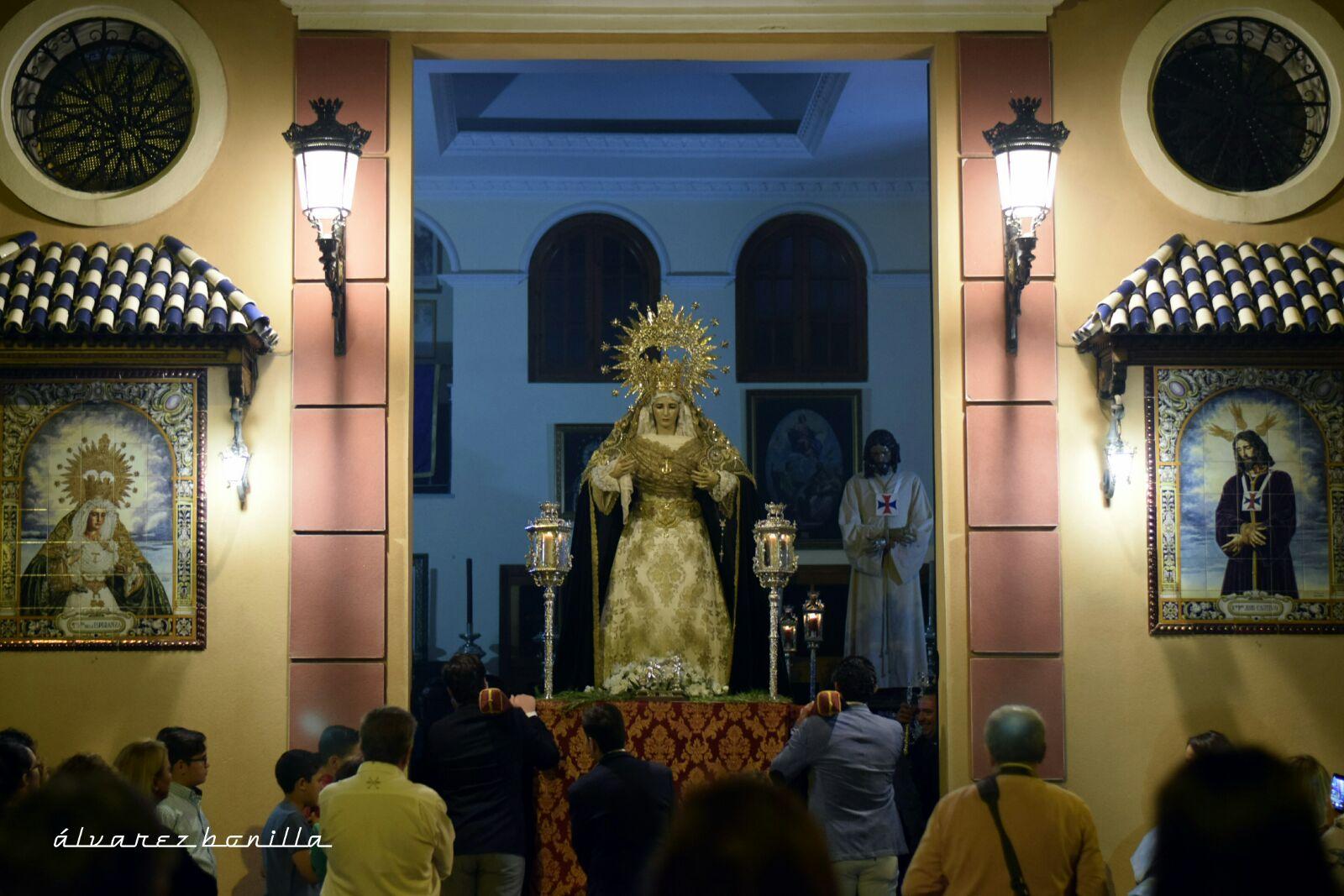 Traslado de los Titulares de Cautivo a su casa hermandad por obras en la parroquia