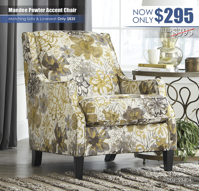 Mandee Pewter Accent Chair_93404-21