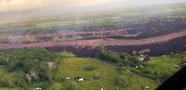 Kilauea, HI-East Rift Zone Eruption Event - 06/021/18