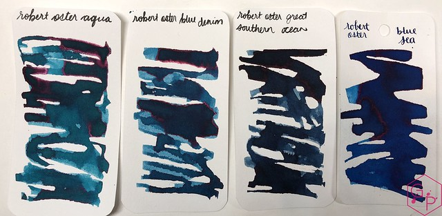 Robert Oster Aqua Ink Review @PhidonPens 6