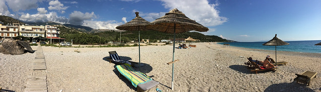 Himare Beach Pano 02