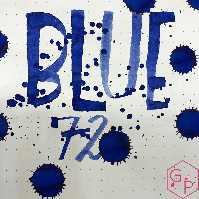 Franklin-Christoph Blue 72 Ink Review @1901FC 16