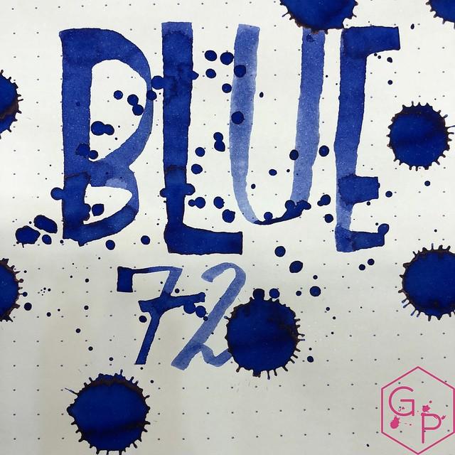 Franklin-Christoph Blue 72 Ink Review @1901FC 16