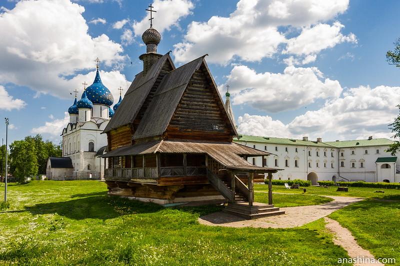 Никольская церковь из села Глотово Юрьев-Польского района