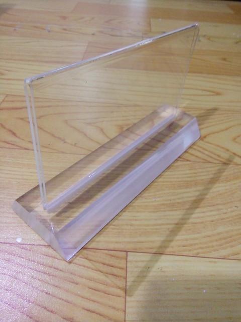 Biển chức danh sản xuất hàng loạt với giá rẻ bằng nhựa Mica trong (9)
