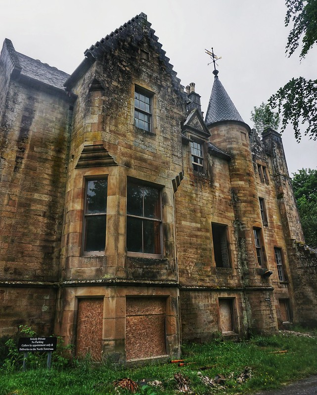 Exploring An Abandoned Hotel In The Scottish Highlands