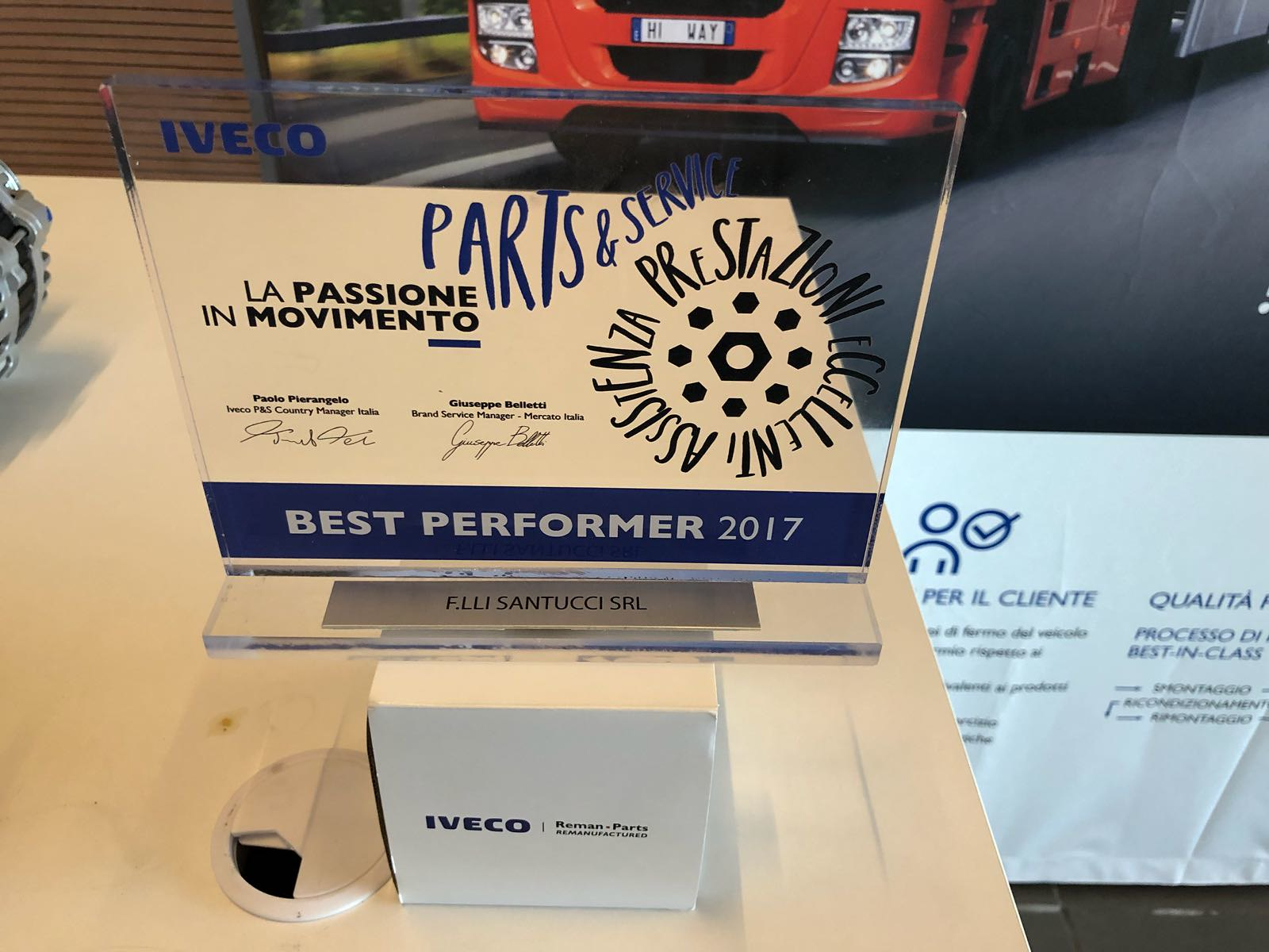 IVECO BEST PERFORMER 2017
