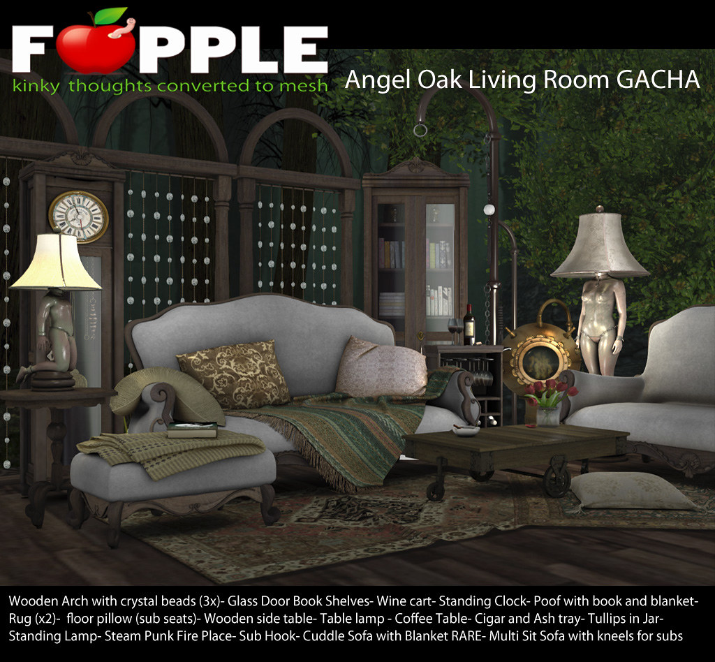 Angel Oak Living Room GACHA - TeleportHub.com Live!