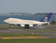 Saudia Boeing 747SP HZ-AIF