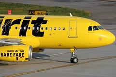 N506NK - Spirit Airbus A319
