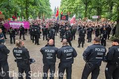 Protest gegen AfD-Aufmarsch in Berlin