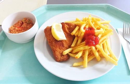 Cordon bleu & Pommes Frites