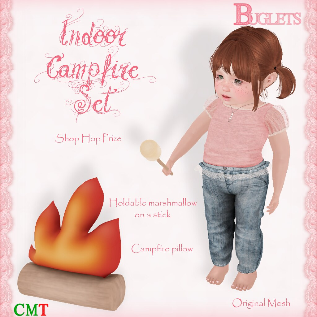 Indoor Campfire Set AD