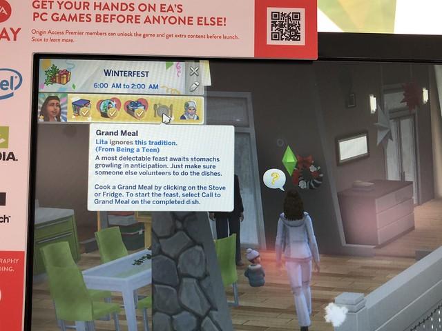 Sims Vão Reagir de Formas Diferentes às Tradições dos Feriados
