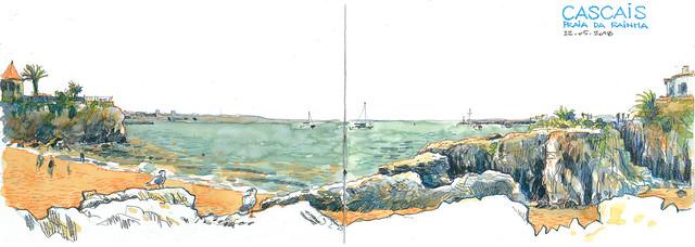 sketch_CASCAIS_Praia da Rainha_180522_300dpi