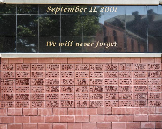 9/11 FDNY Memorial, EMS Academy, Fort Totten, New York City