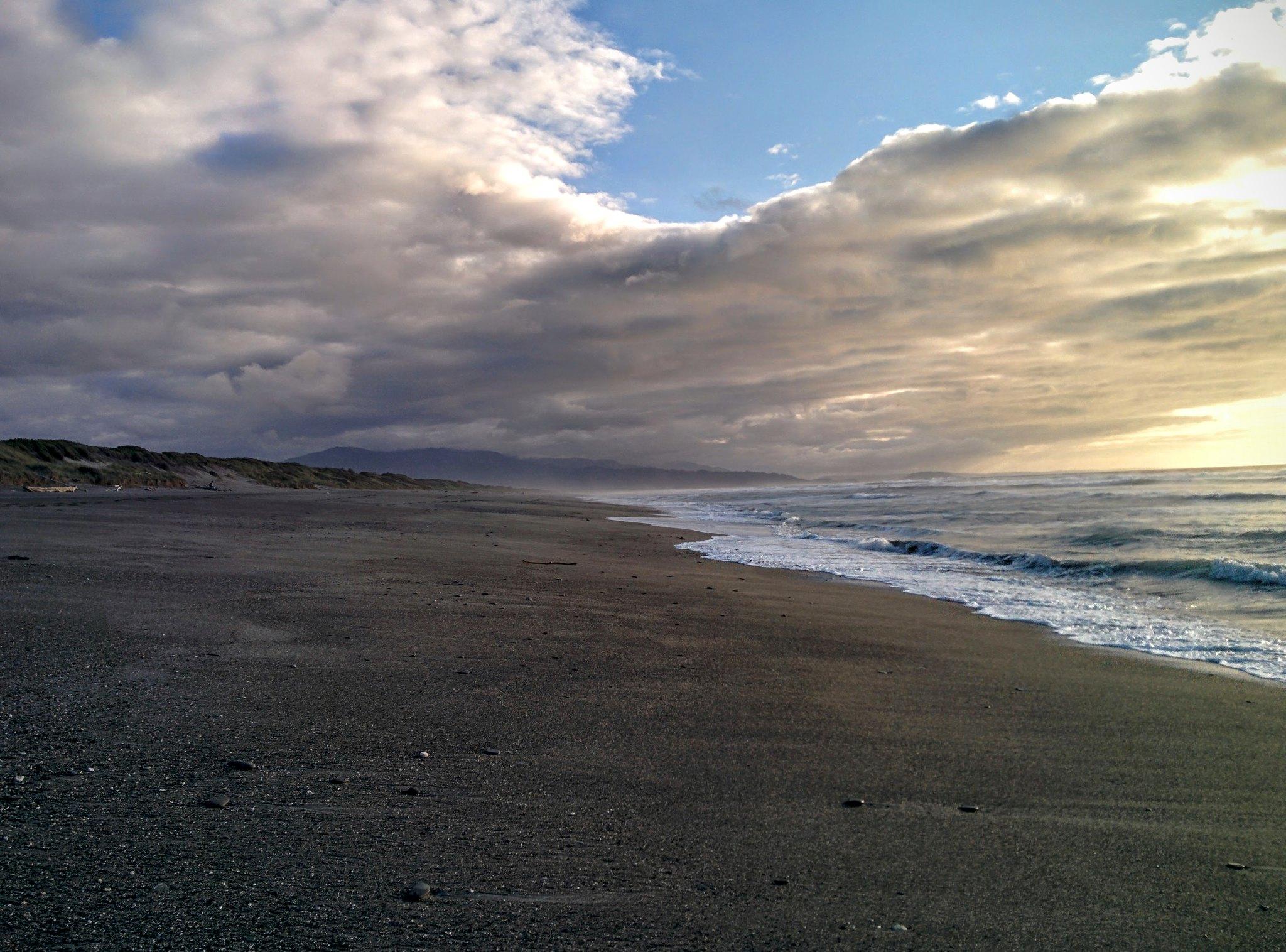 Mahinapua beach