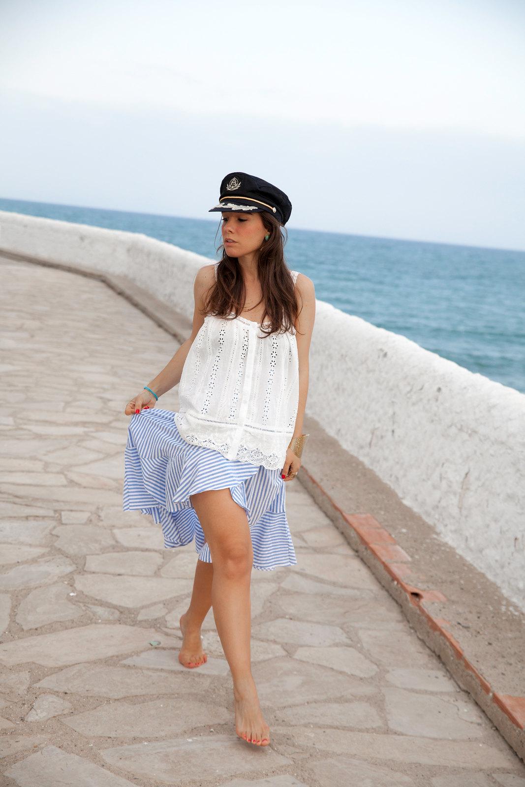 El look perfecto de verano para una Mediterranean Girl theguestgirl barcelona influencer