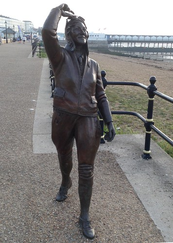 Amy Johnson Statue