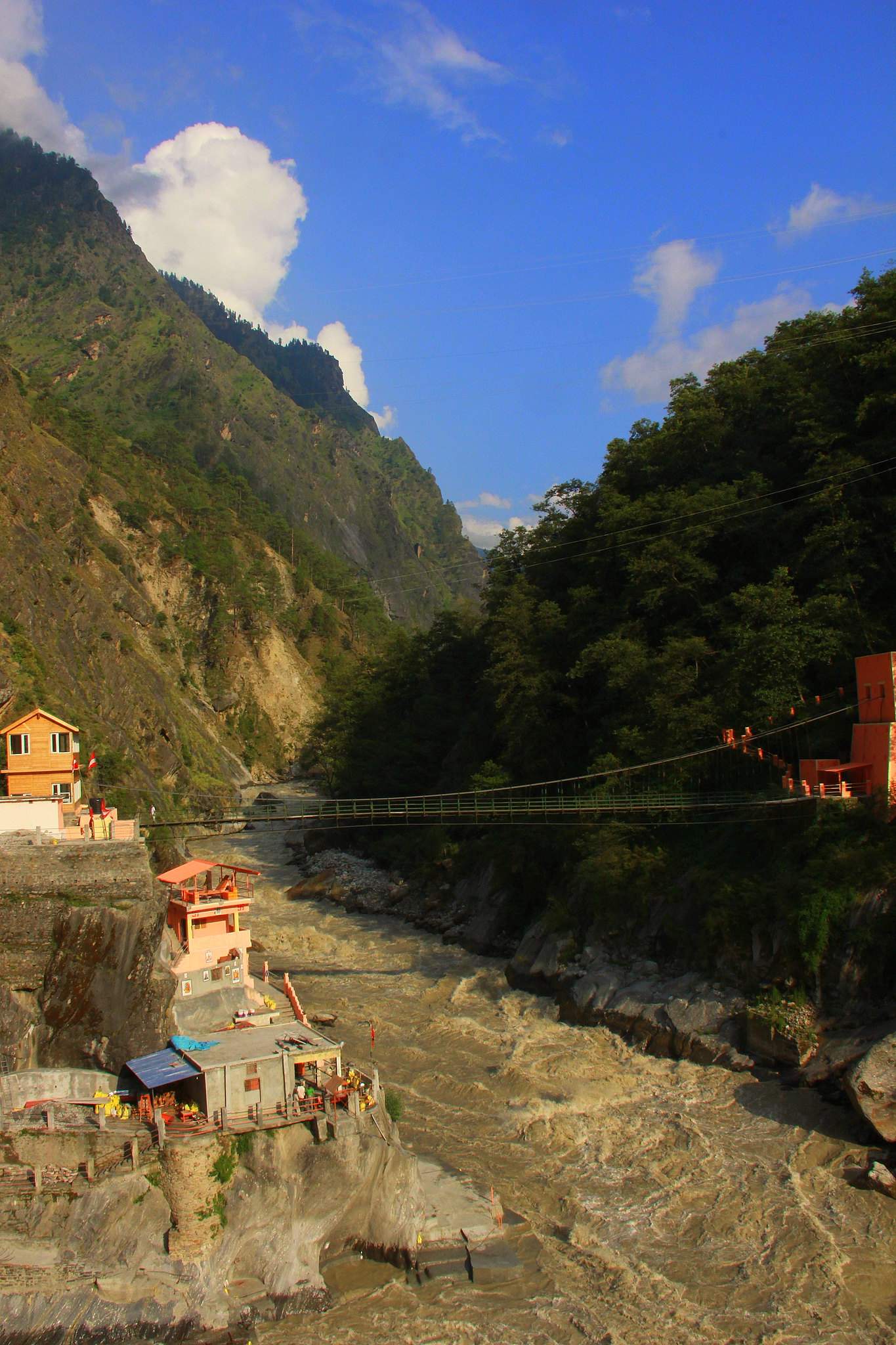Vishnuprayag is near Joshimath