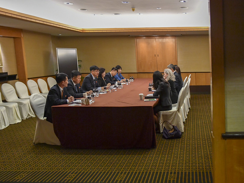 Ambassador Kim Participates in Meetings With DPRK Vice Foreign Minister Choe Son Hui and DPRK MFA Officials