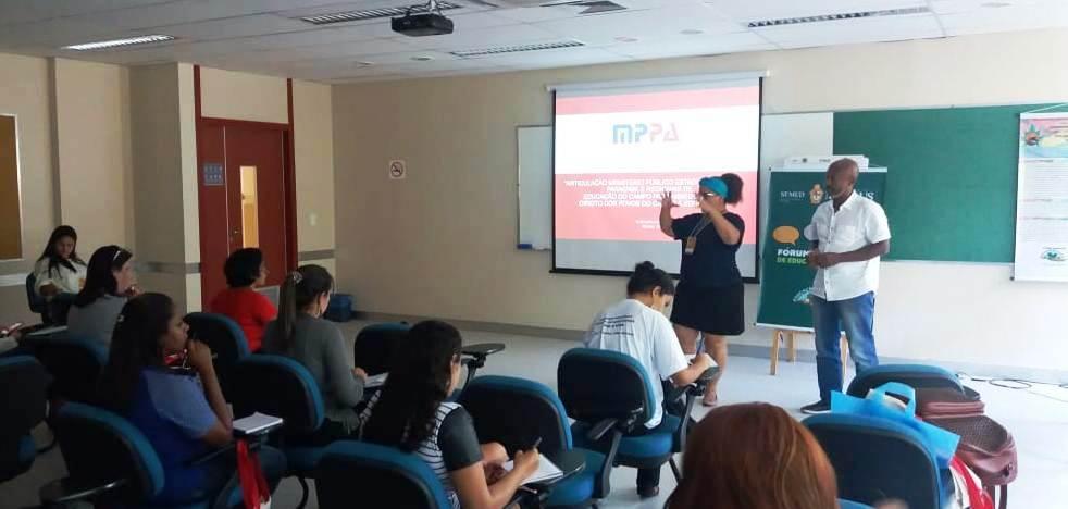 Promotora socializa em Brasília experiência do MP com educação do campo no PA, liliabraga2